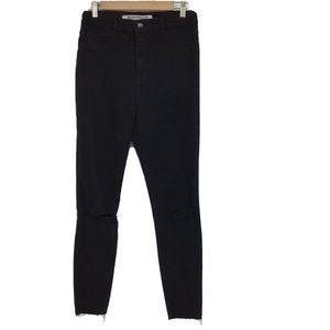 Zara Trafaluc Denim Skinny Fit Distressed Jeans